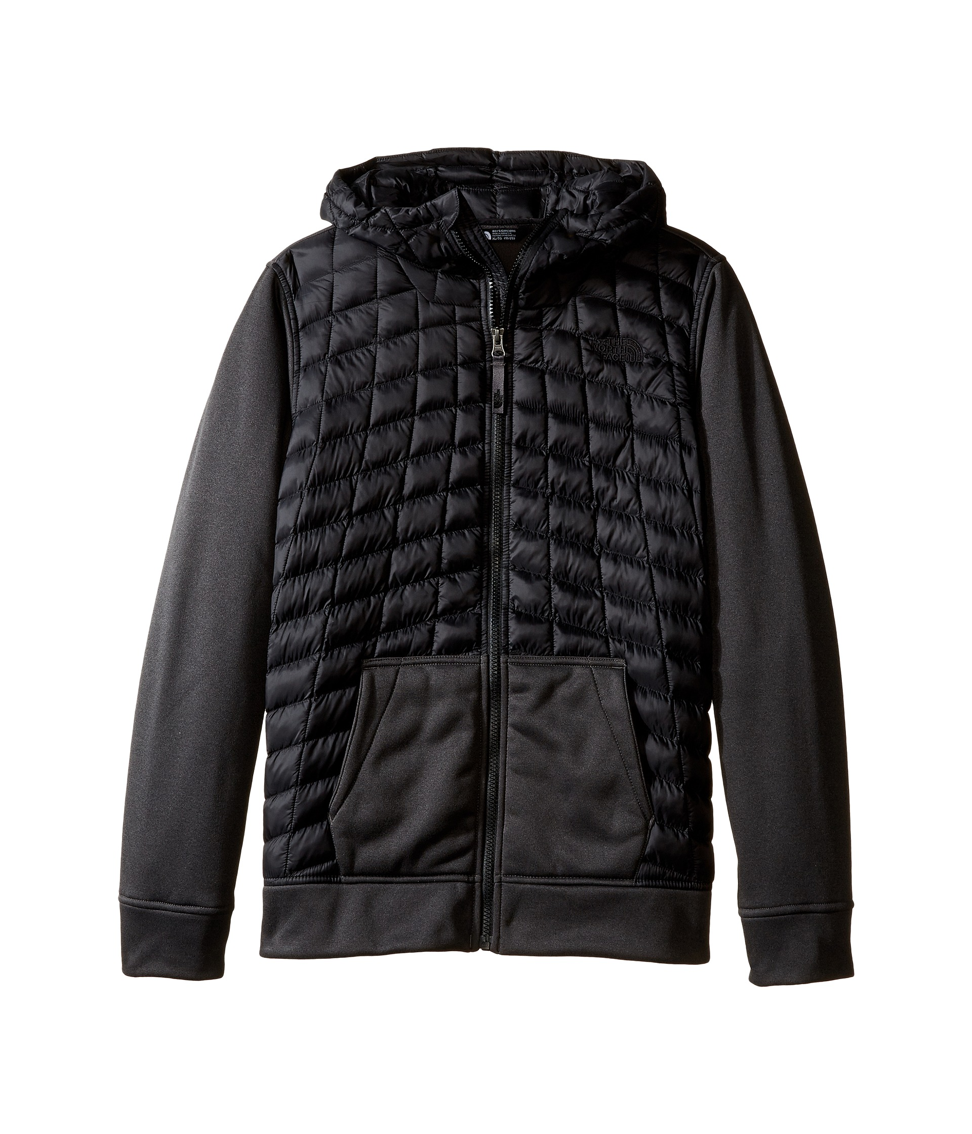 the north face kids thermoball canyonlands hoodie little. Black Bedroom Furniture Sets. Home Design Ideas