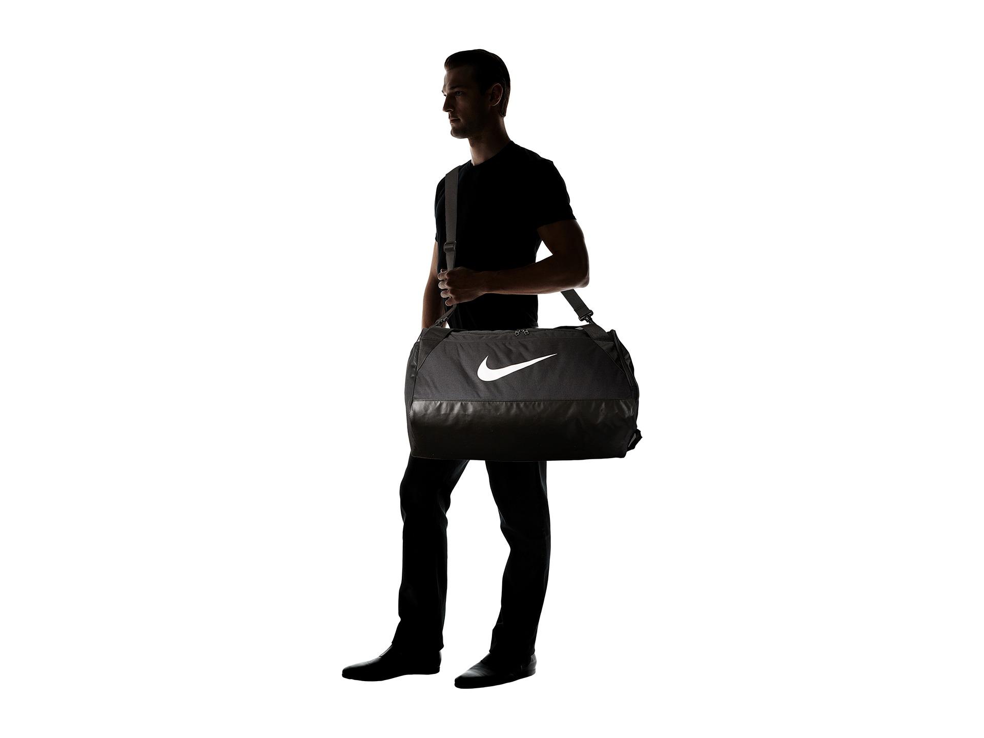 Nike Team Training Max Air Medium Duffel Bag Black  6eaa2dcbd381d