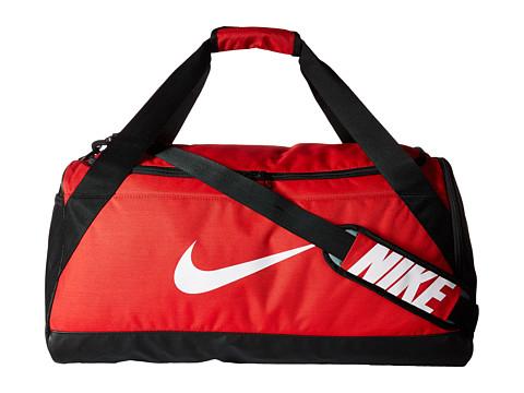 51f0f6ddb6 Nike Brasilia Medium Duffel Bag - University Red Black White