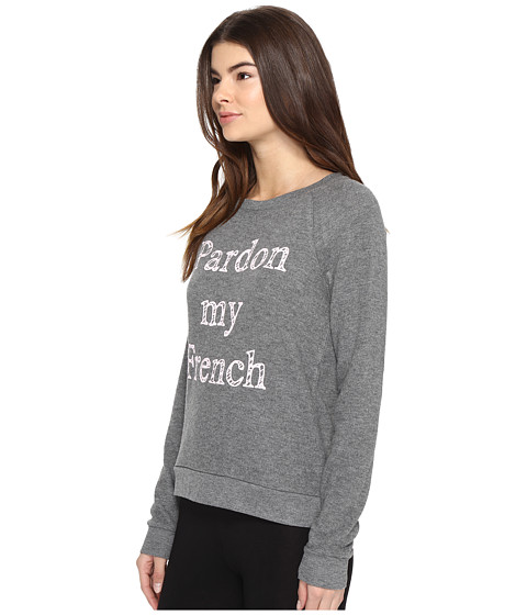 p j salvage pardon my french sweatshirt at. Black Bedroom Furniture Sets. Home Design Ideas