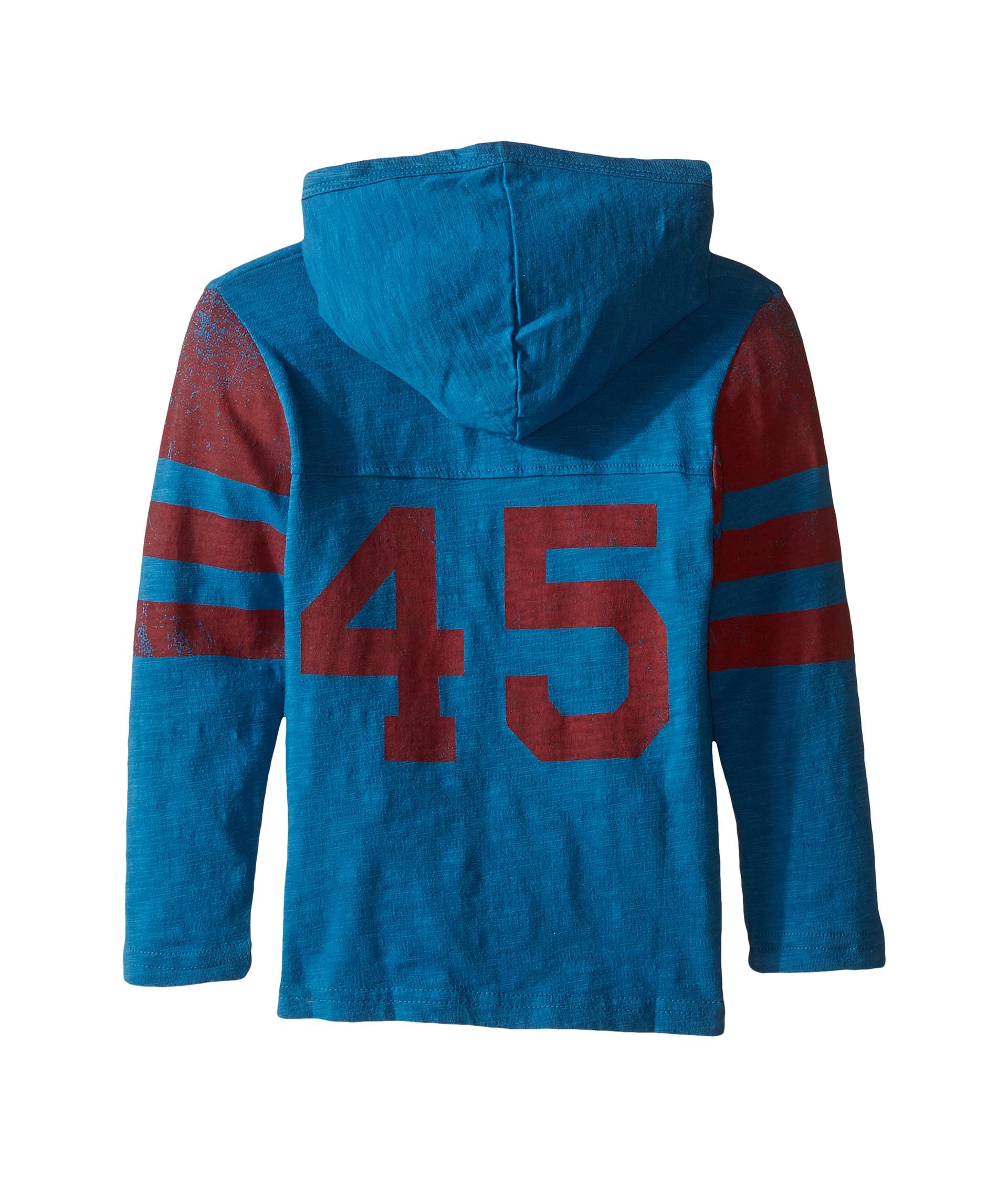 Appaman Kids Hooded Hockey Jersey (Toddler/Little Kids/Big ...
