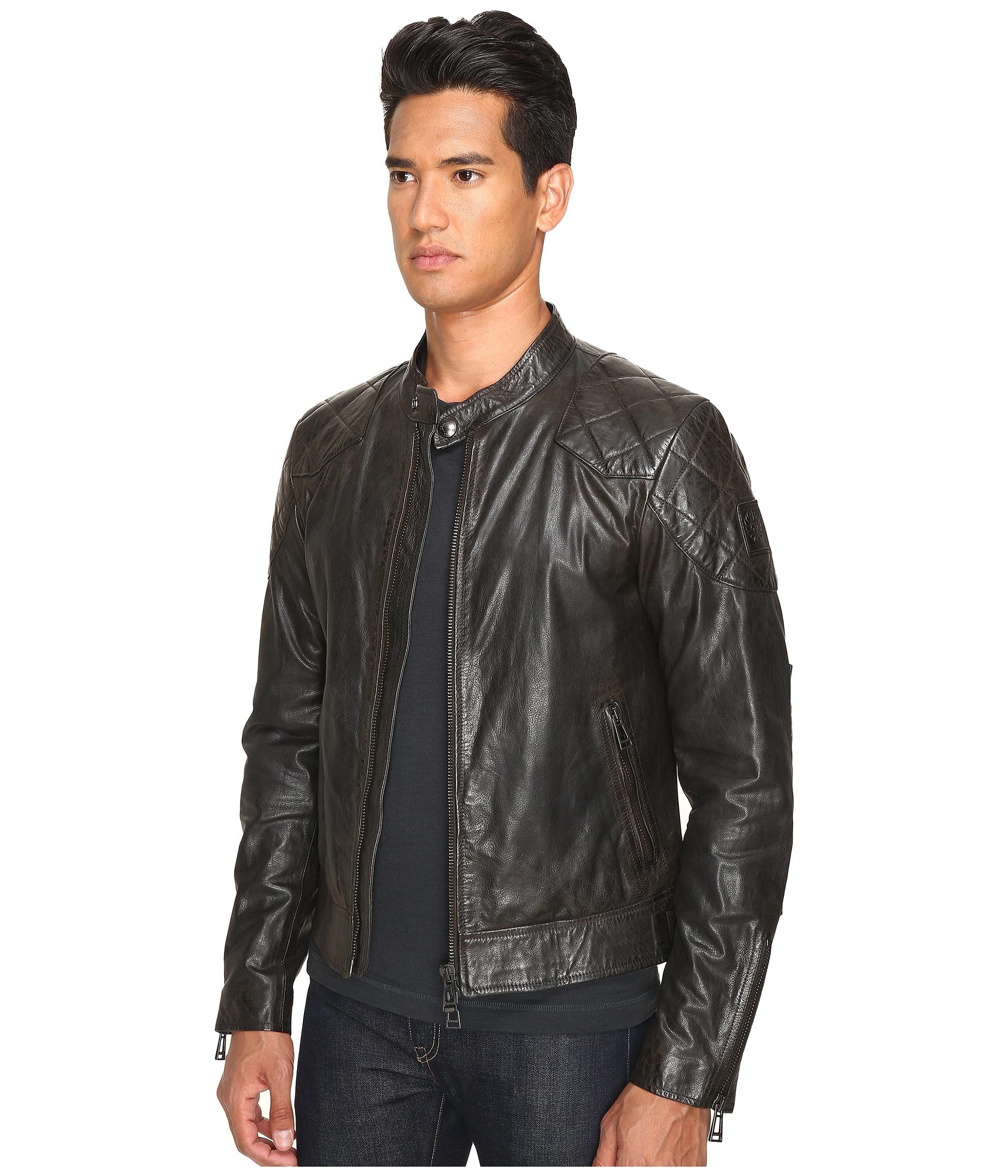 Bellstaff leather jacket