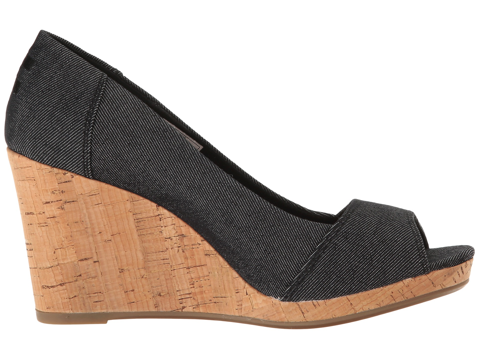 Toms Stella Wedge At Zappos Com