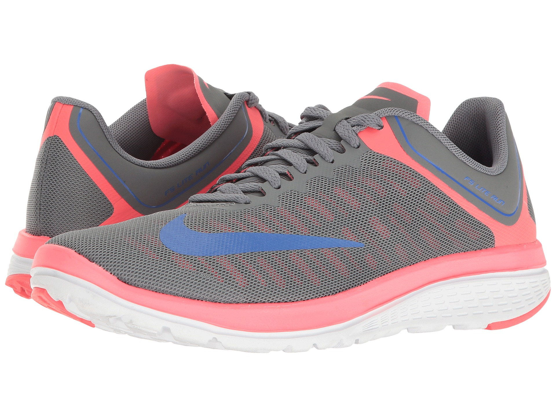 Nike FS Lite Run 3 Natural Running Shoe Women Black, Neon