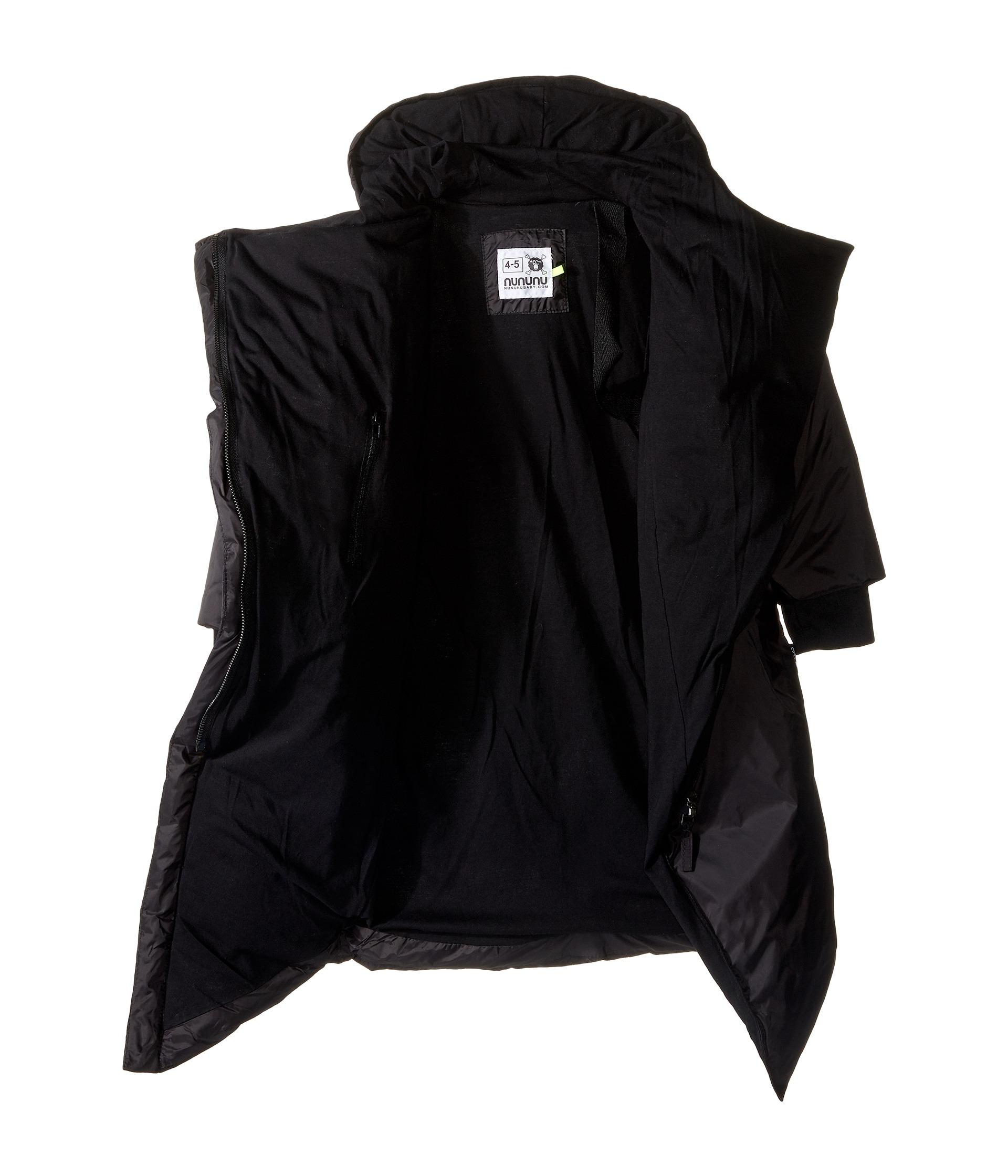 Nununu Long Down Filled Winter Coat (Infant/Toddler/Little