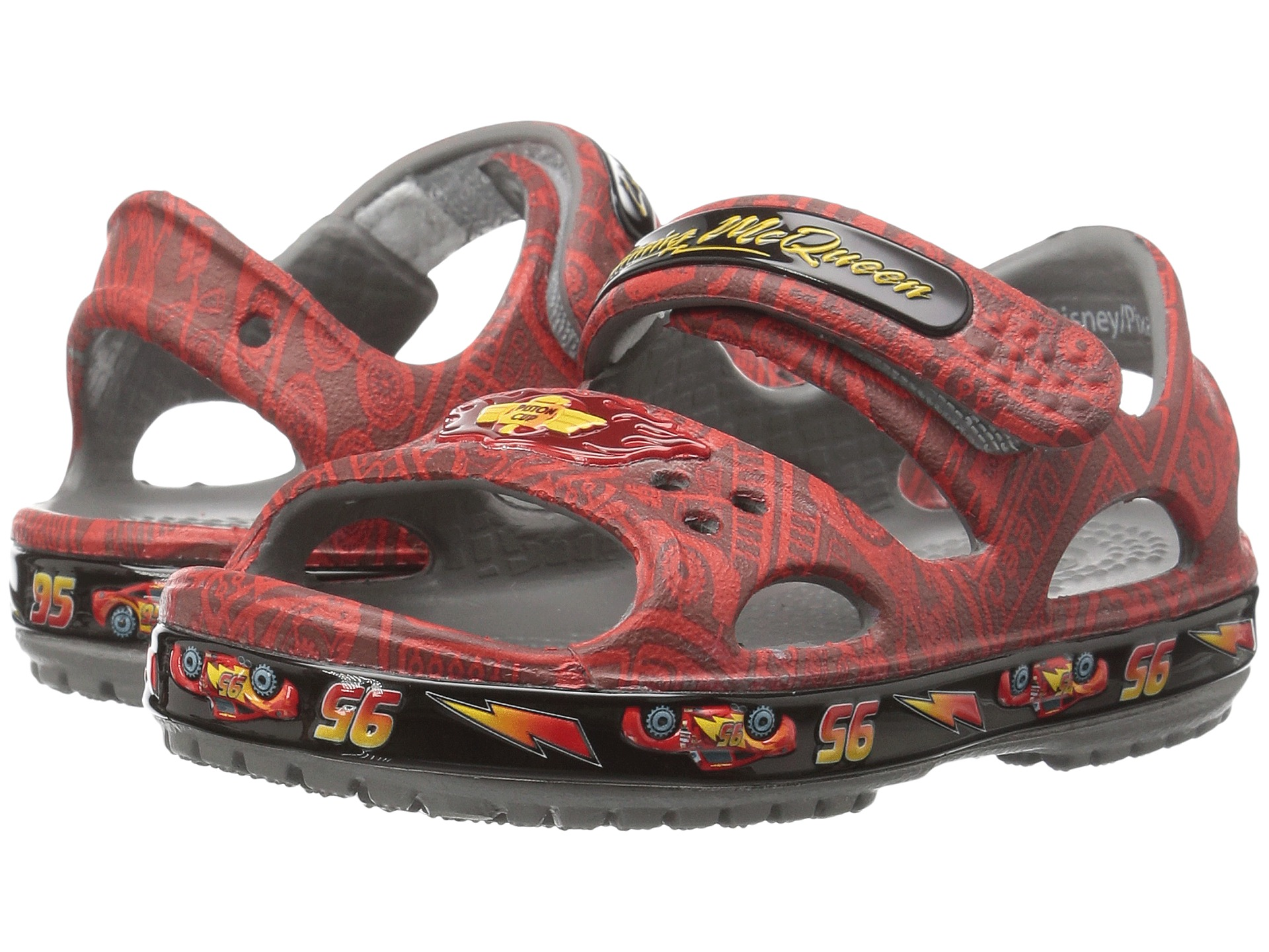 Crocs Kids Crocband Ii Lightning Mcqueen Toddler Little