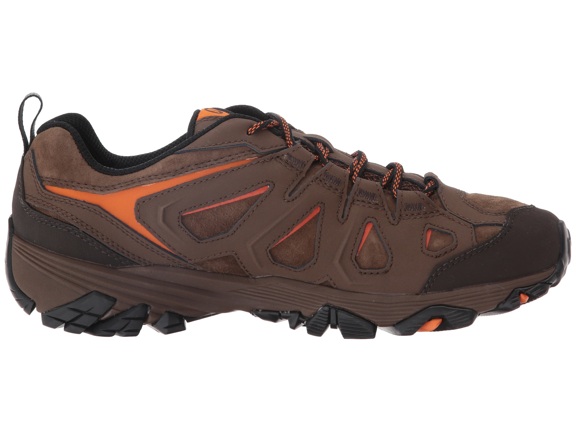 Zappos Merrell Men S Moab  Waterproof Hiking Shoe D