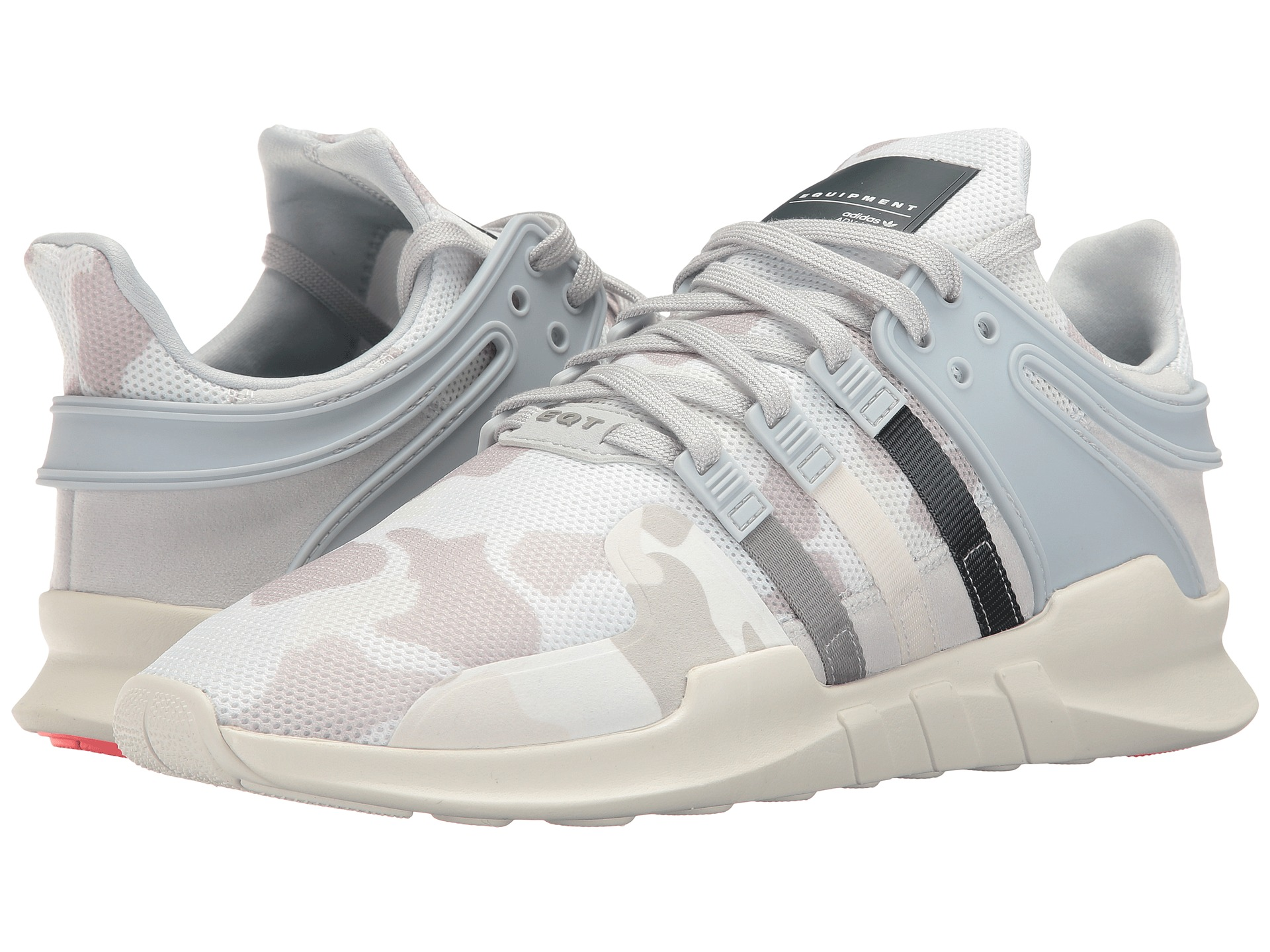 Adidas EQT Running Support (Core Black & White) End