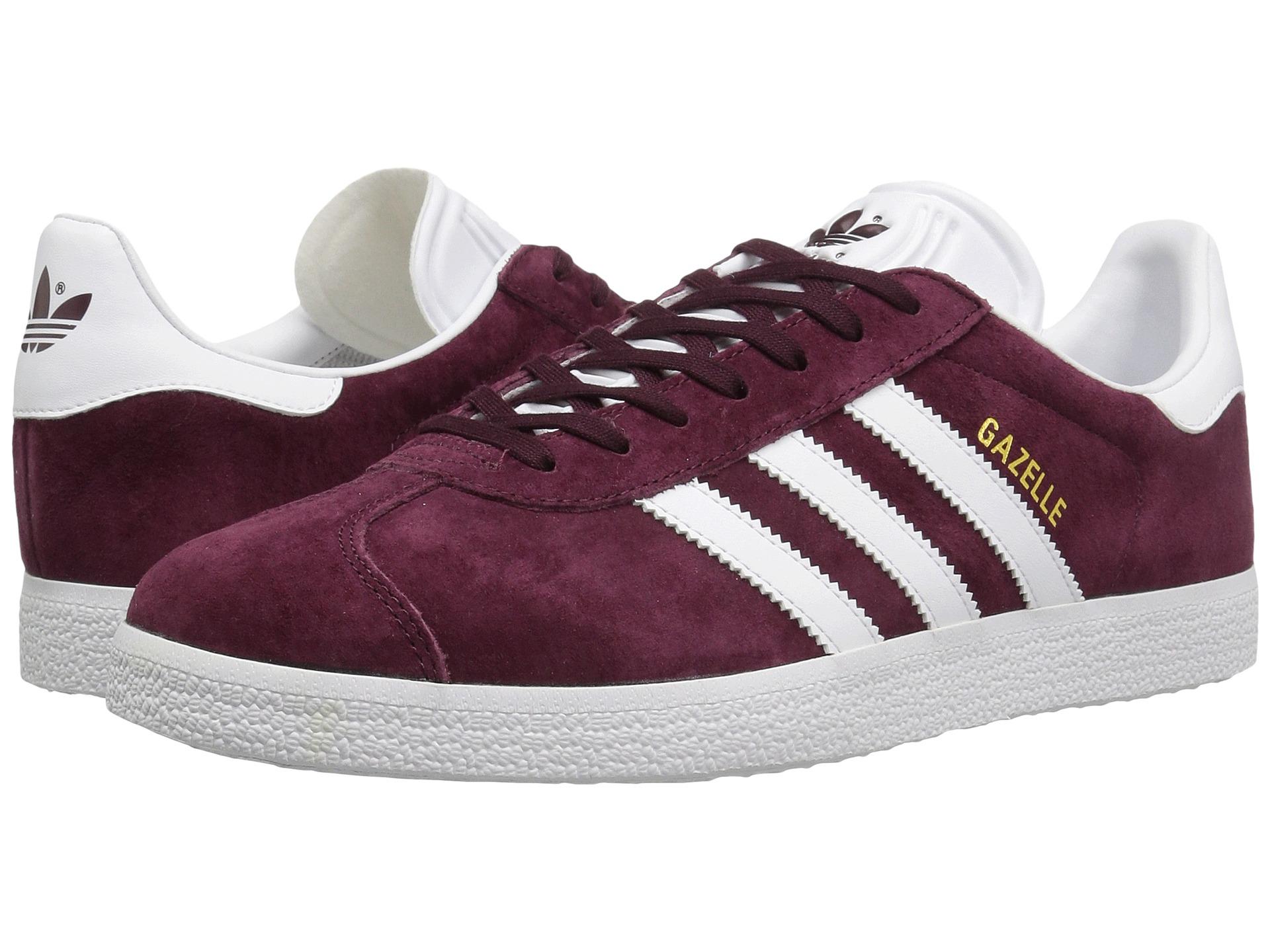 Adidas Originals Mens Maroon Shoes