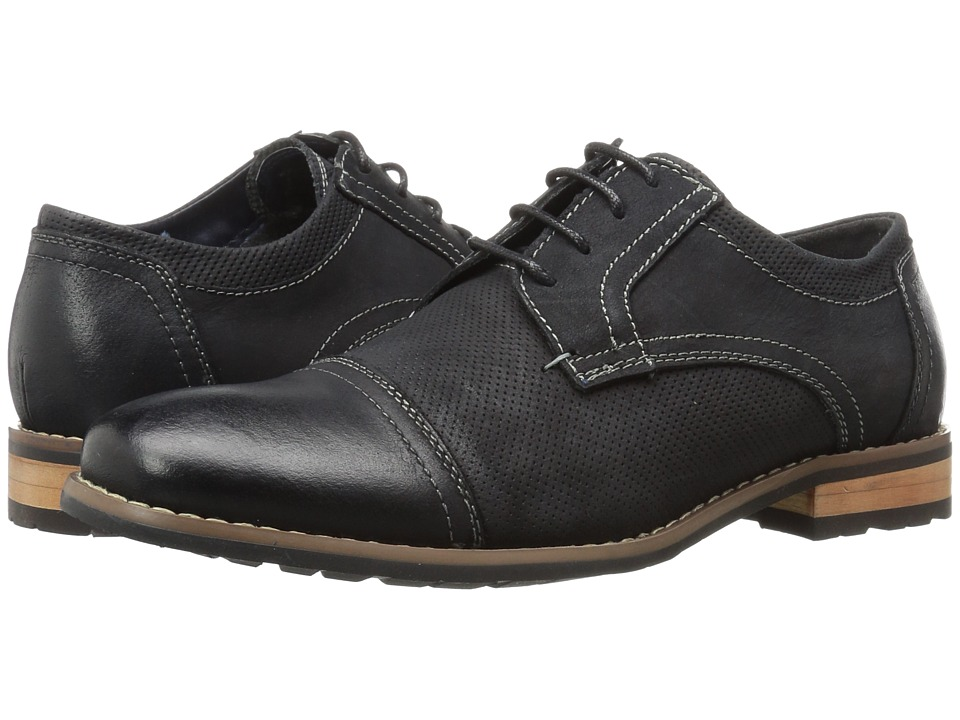 0d1b06c43d2 UPC 888509669580 - Steve Madden - Chays (Black Nubuck) Men's Lace up ...