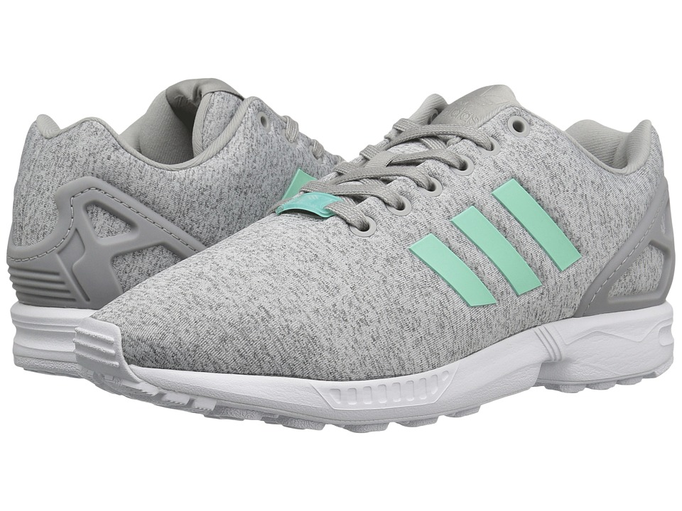 newest b0dae a8d2d adidas Originals ZX Flux Primeknit Trainers In Grey S76370 Asos
