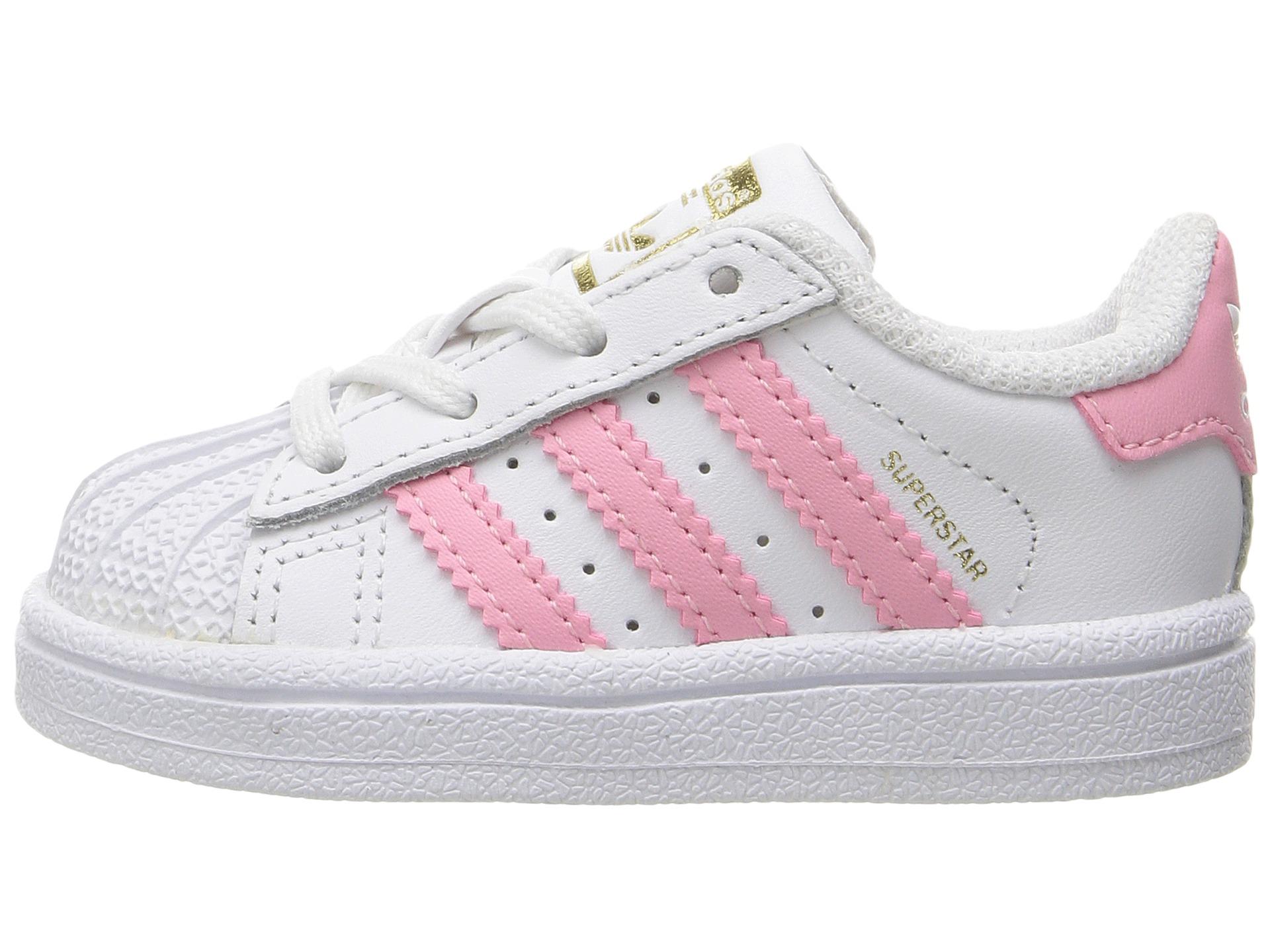 Adidas Originals Kids Superstar Infant Toddler White