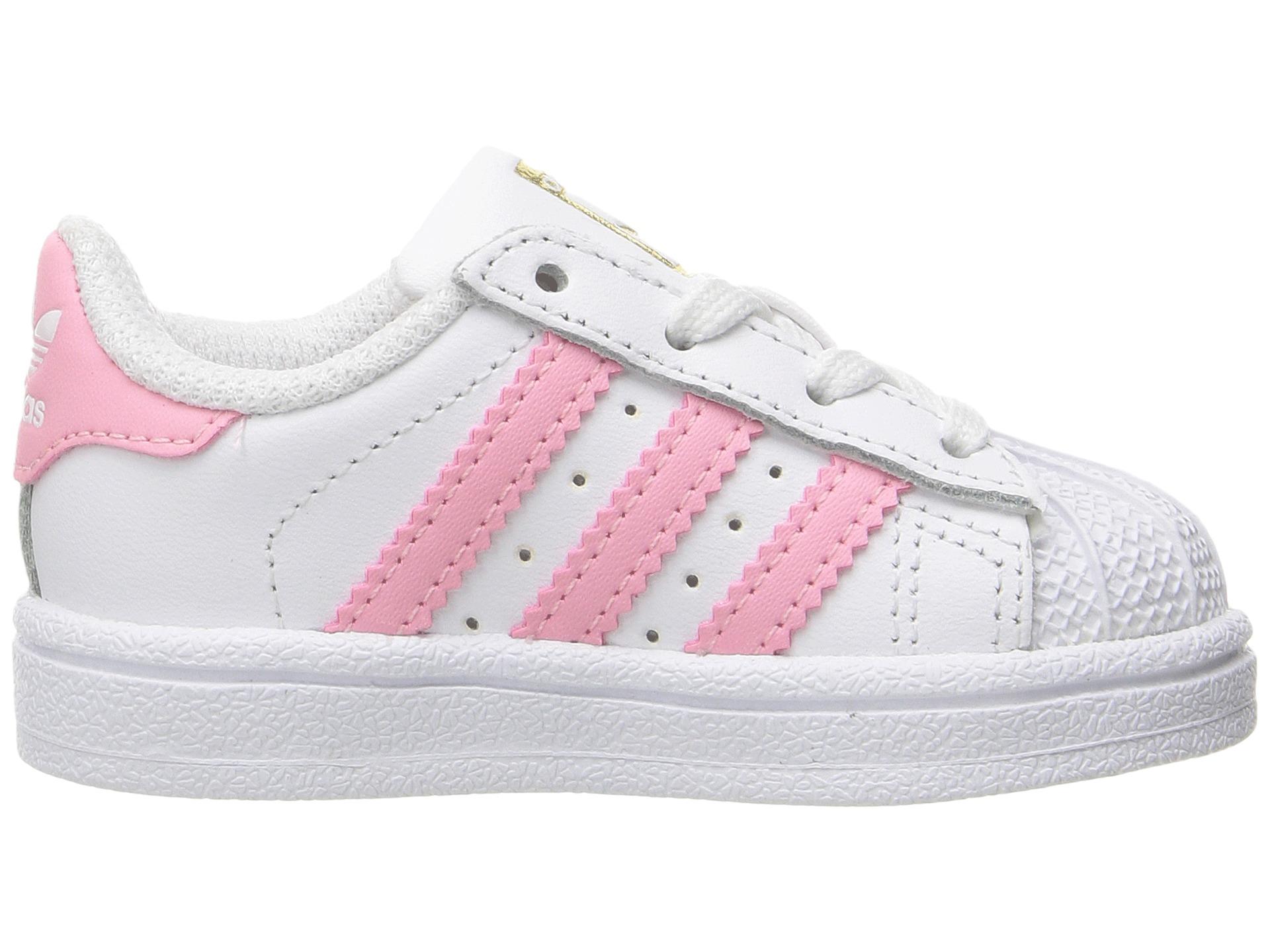 adidas superstar slip on kids Pink