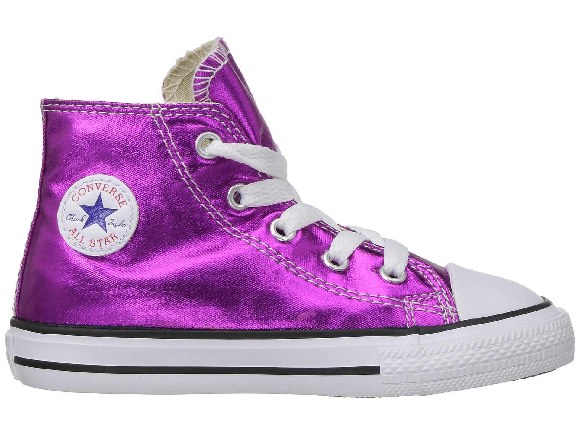 Converse Kids Chuck Taylor All Star Hi Metallic Infant