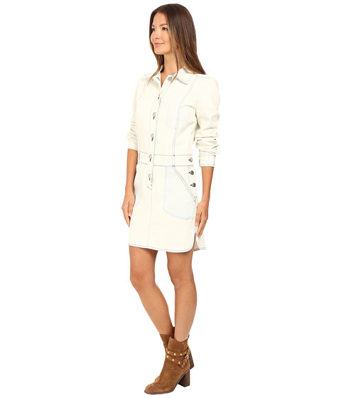 See By Chloe Denim Button Down Dress At 6pm.com