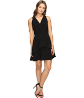 Bcbgeneration Sleeveless V Neck Dress Black Clothing
