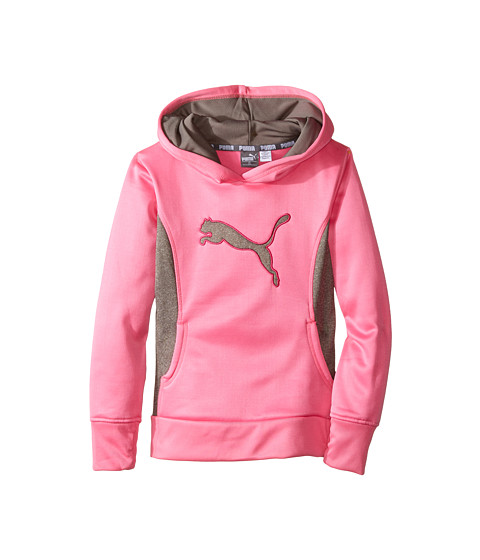 Puma Kids Cat Hoodie with Thumb Hole (Little Kids) Sugar ...