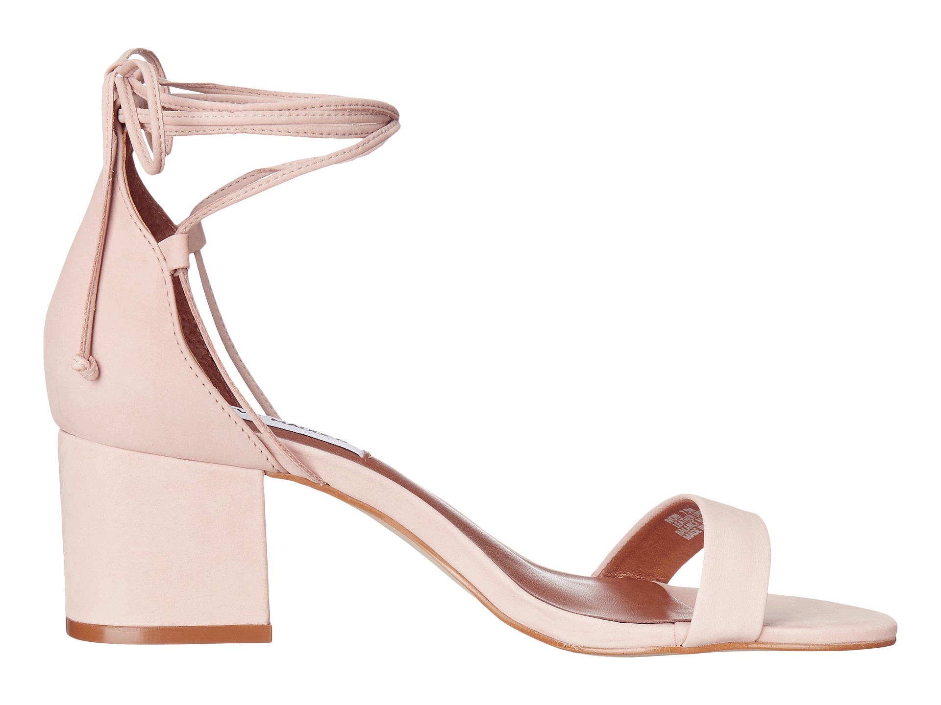 Shopping Product  Q Baby Pink Block Heel Shoes