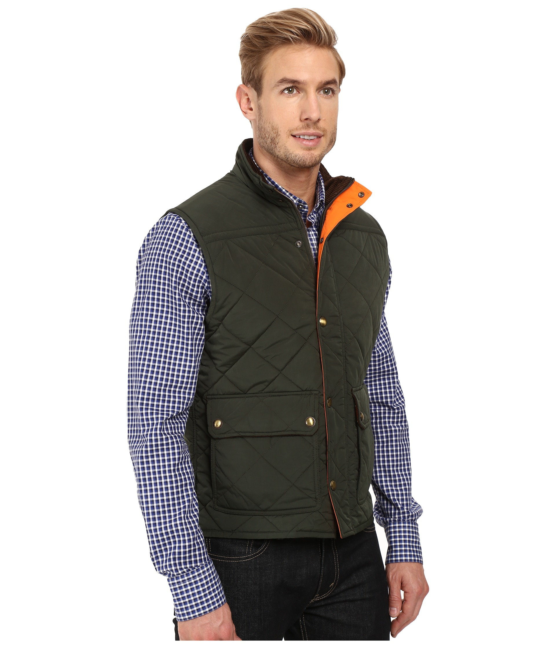 Vineyard Vines Quilted Vest Charleston Green Zappos Com Free Shipping Both Ways