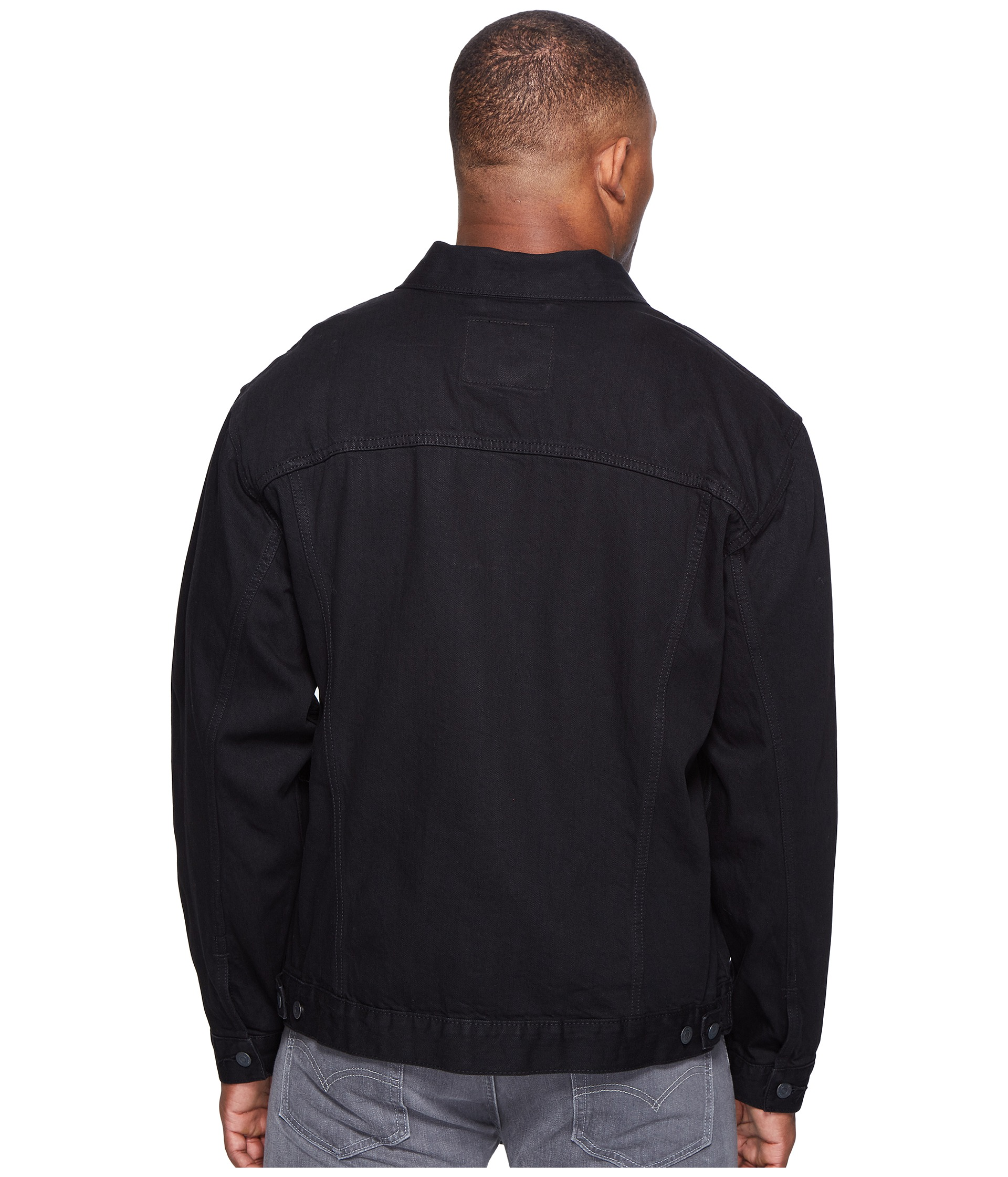 Levi S 174 Big Amp Tall Big Amp Tall Trucker Jacket At Zappos Com