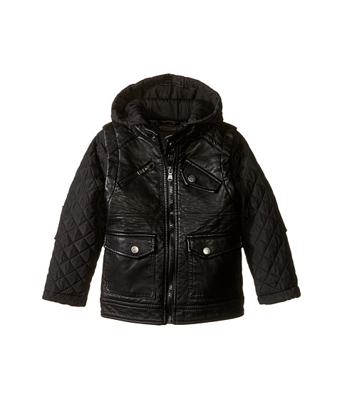 Toddler faux leather jacket