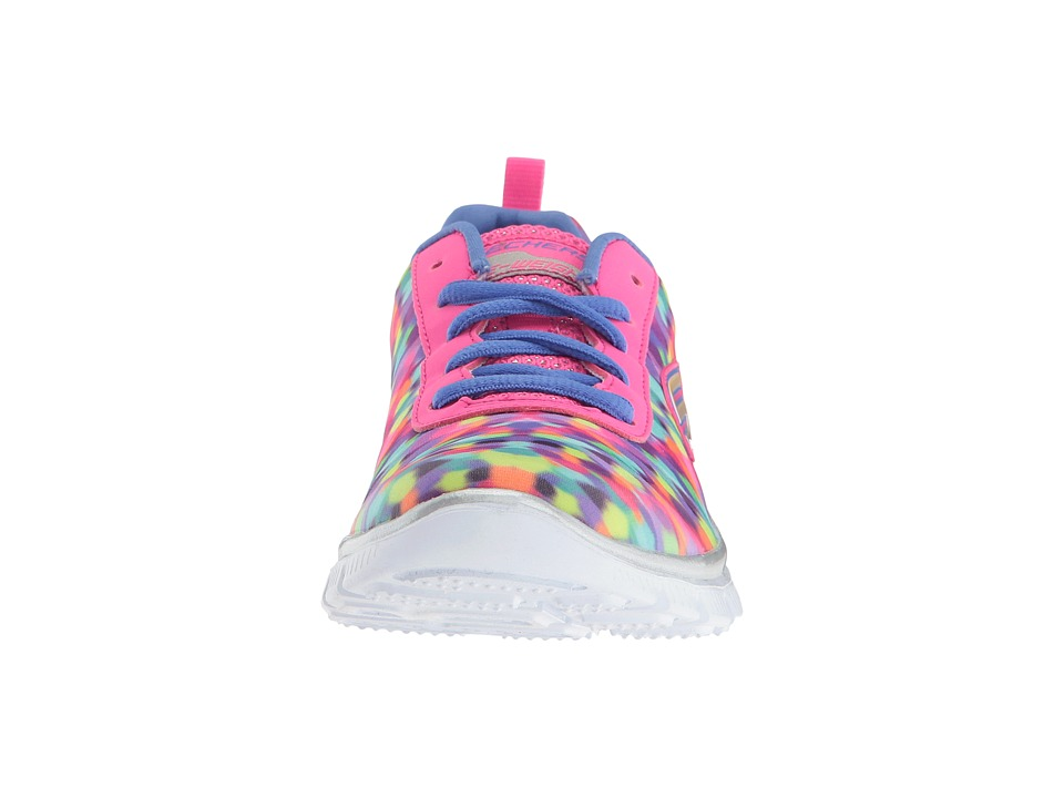 85a171a63c27 SKECHERS KIDS Skech Appeal Rainbow Runner 81820L Little Kid Big Kid) Girl s  Shoes