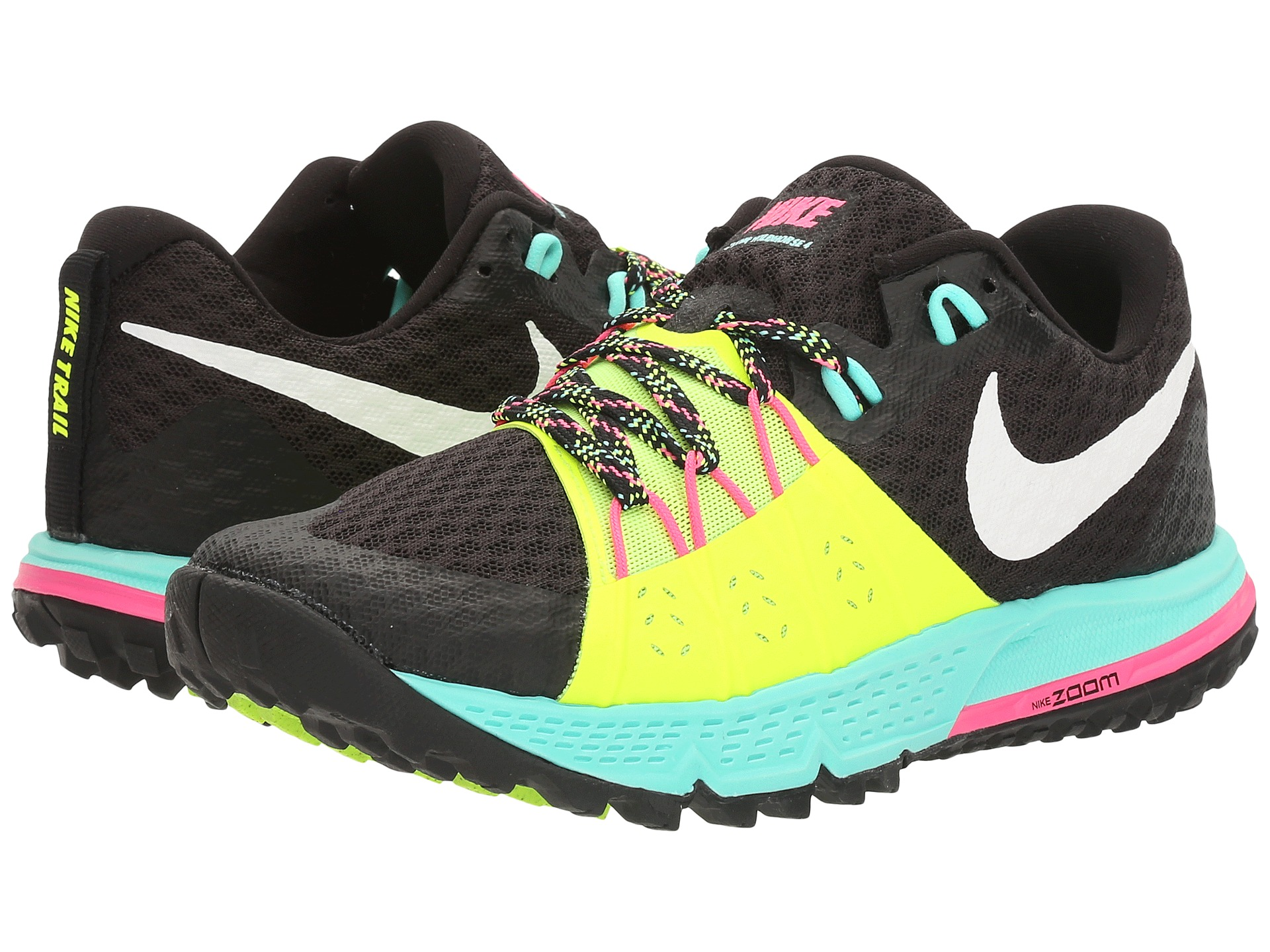 Nike Shoes Pink And Turquoise
