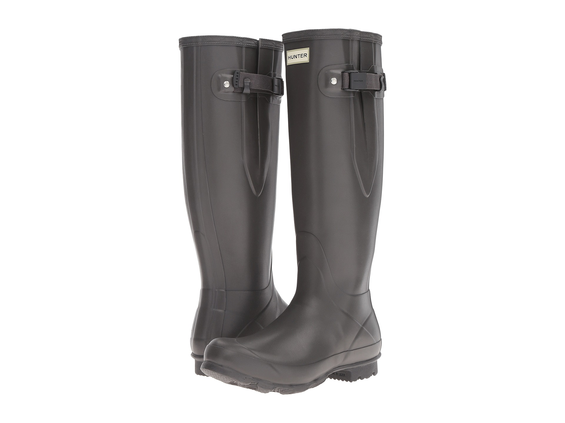 Hunter Norris Field Side Adjustable Boot At Zappos Com