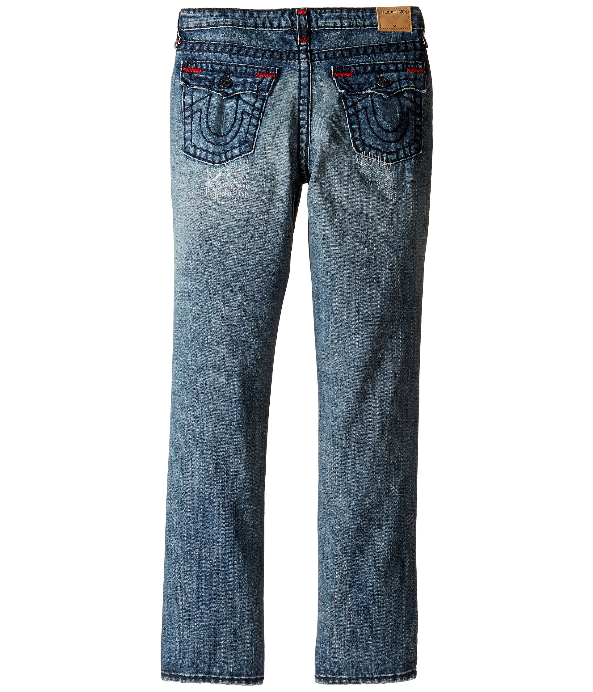 55c04d694 True Religion Kids Geno Super T Jeans in Tarnished Wash (Big Kids ...