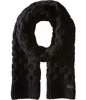 Honeycomb Hand Knit Scarf COACH
