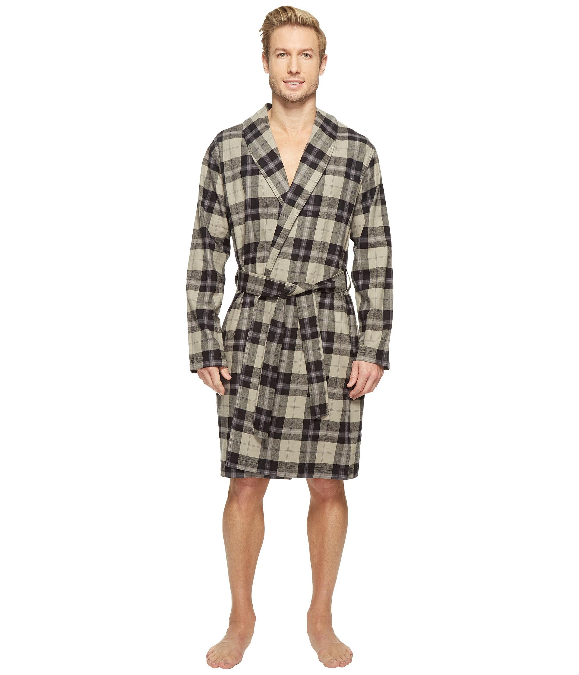Ugg Australia Jon Plaid Cotton Robe  5906baeff