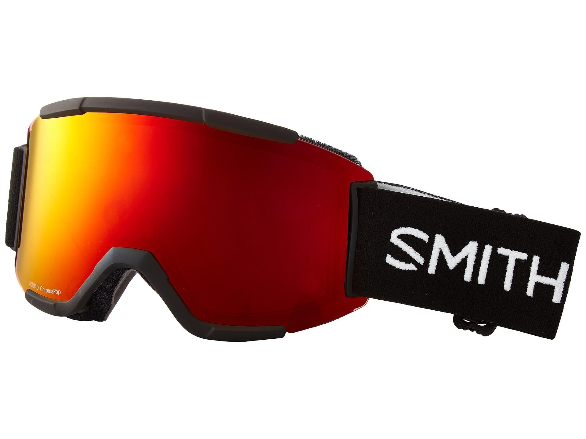 7d84dbca74 Smith Optics Squad Goggle Black Frame Chromapop Everyday Yellow Lens -  www.cinemas93