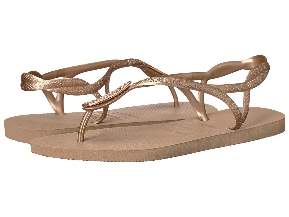 fe6aa71d977c  40.00 More Details · Havaianas - Luna Special Flip Flops (Rose Gold)  Women s Sandals