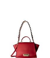 Frye Brooke Small Satchel Burnt Red Soft Vintage Leather
