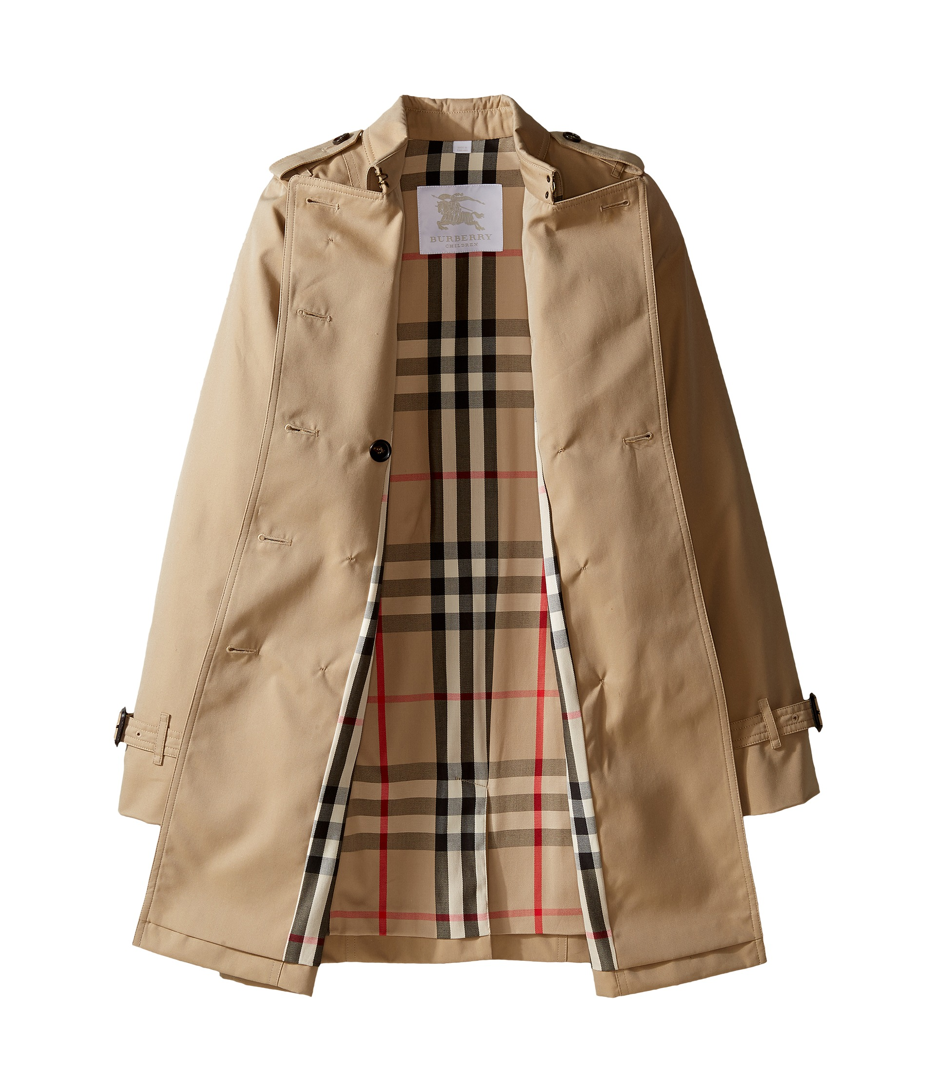 4b42cb79c657 Laminated Check Trench Coat Exclusive In Fluorescent Yellow. Gallery. The Burberry  Trench ...