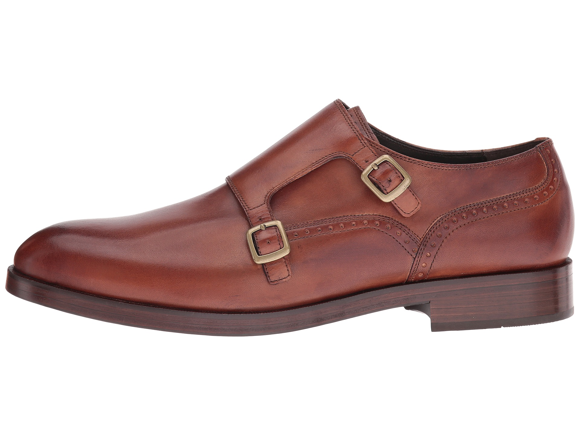 Cole haan double monk strap