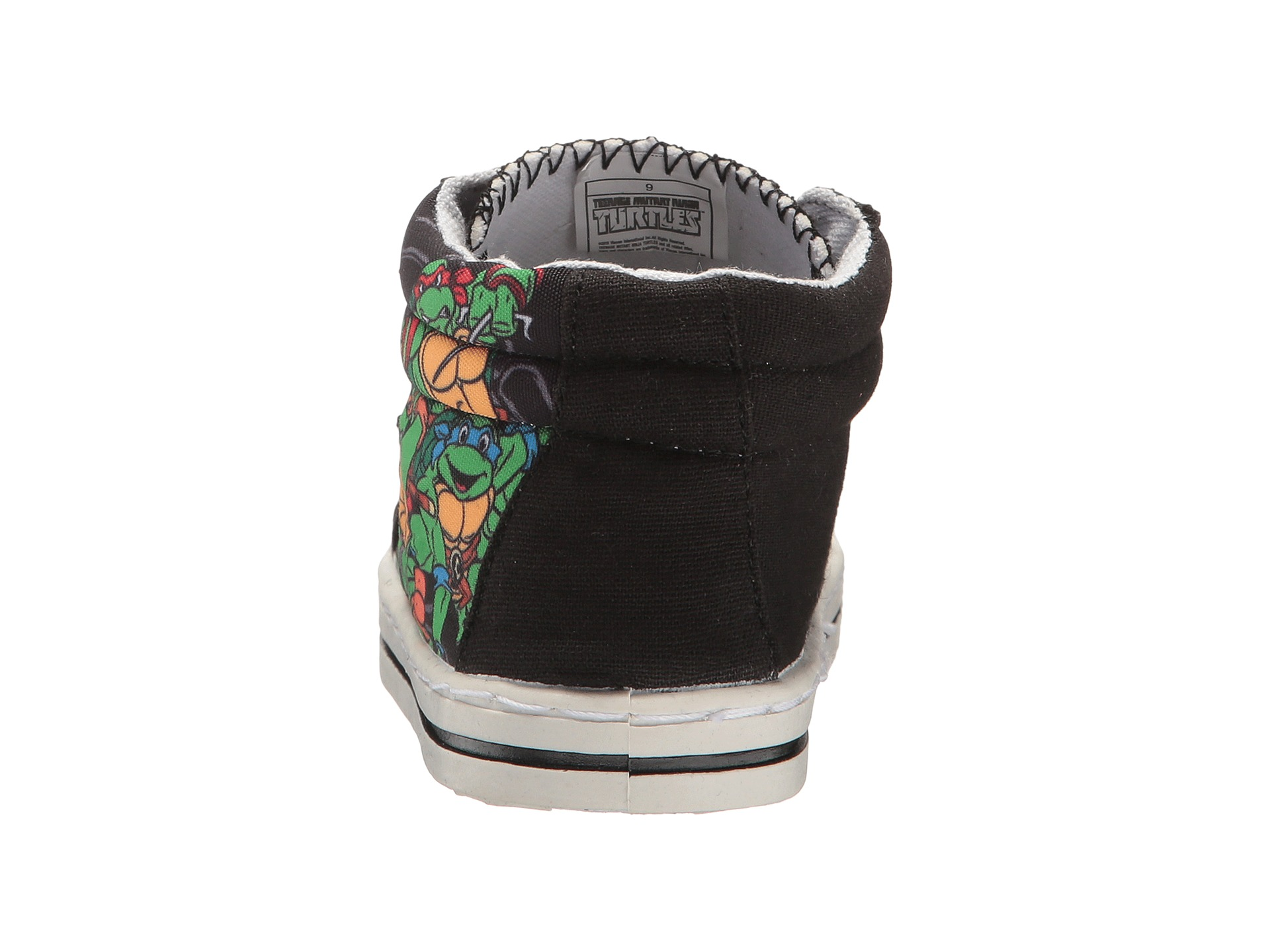 Josmo Kids Ninja Turtles High Top Sneaker Toddler Little