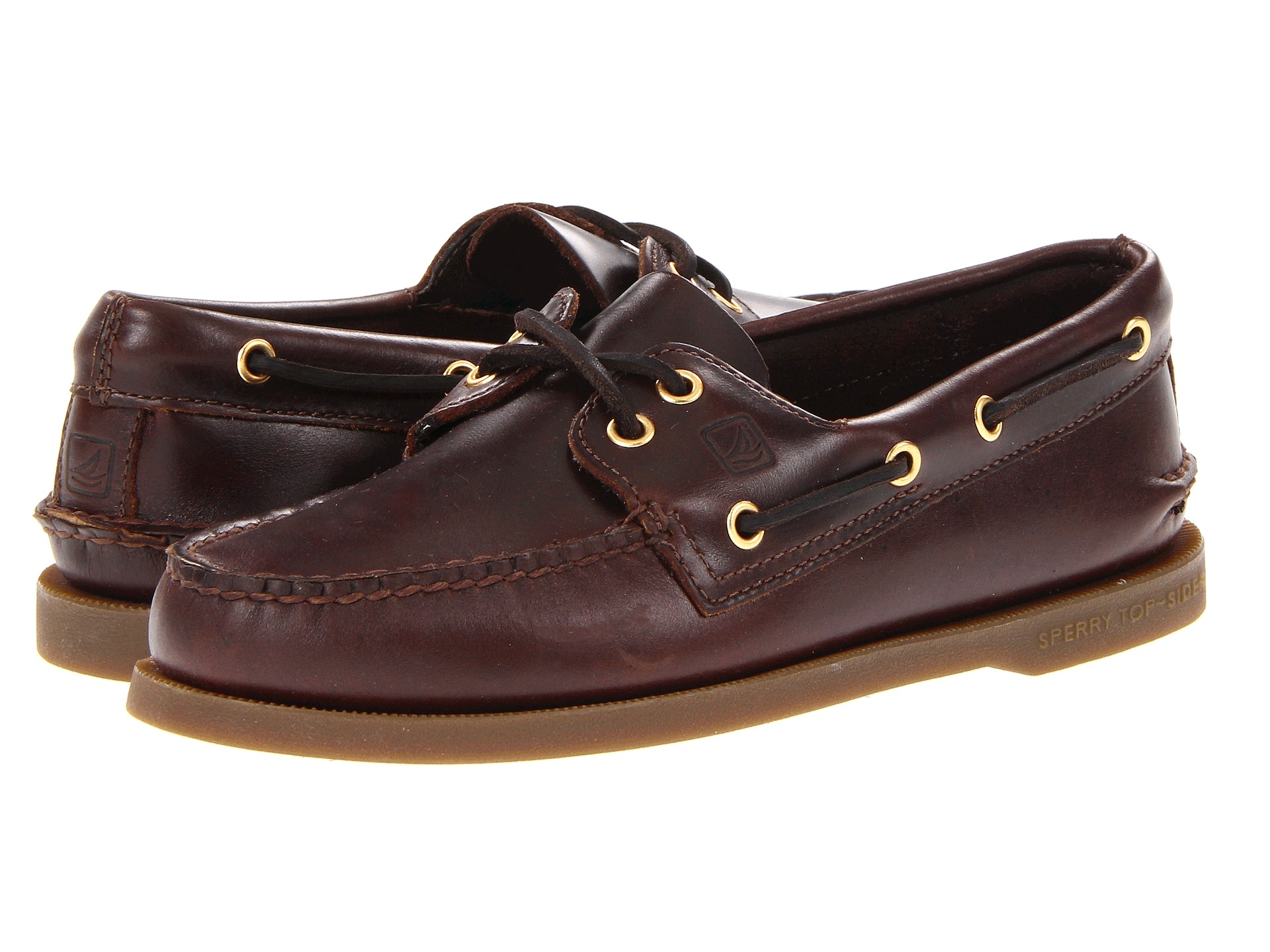 Men S Authentic Original  Eye Boat Shoe Classic Brown