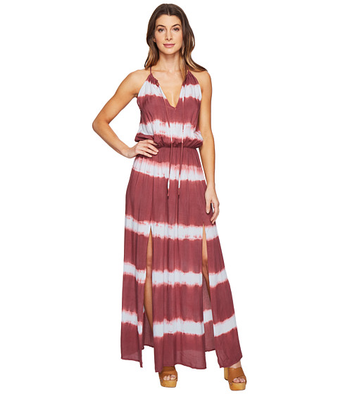 Culture Phit Emmalee Tie-Dye Maxi Dress With Slit At