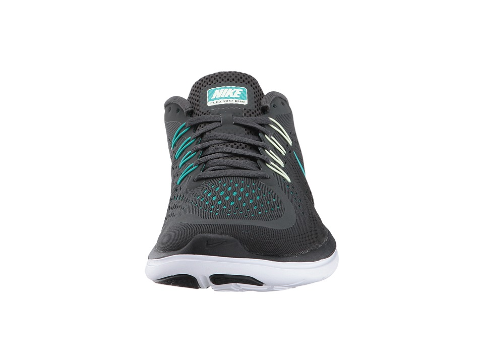 Nike - flex rn 2017 (anthracite clear jade black blustery) men s running  shoes 95be83312