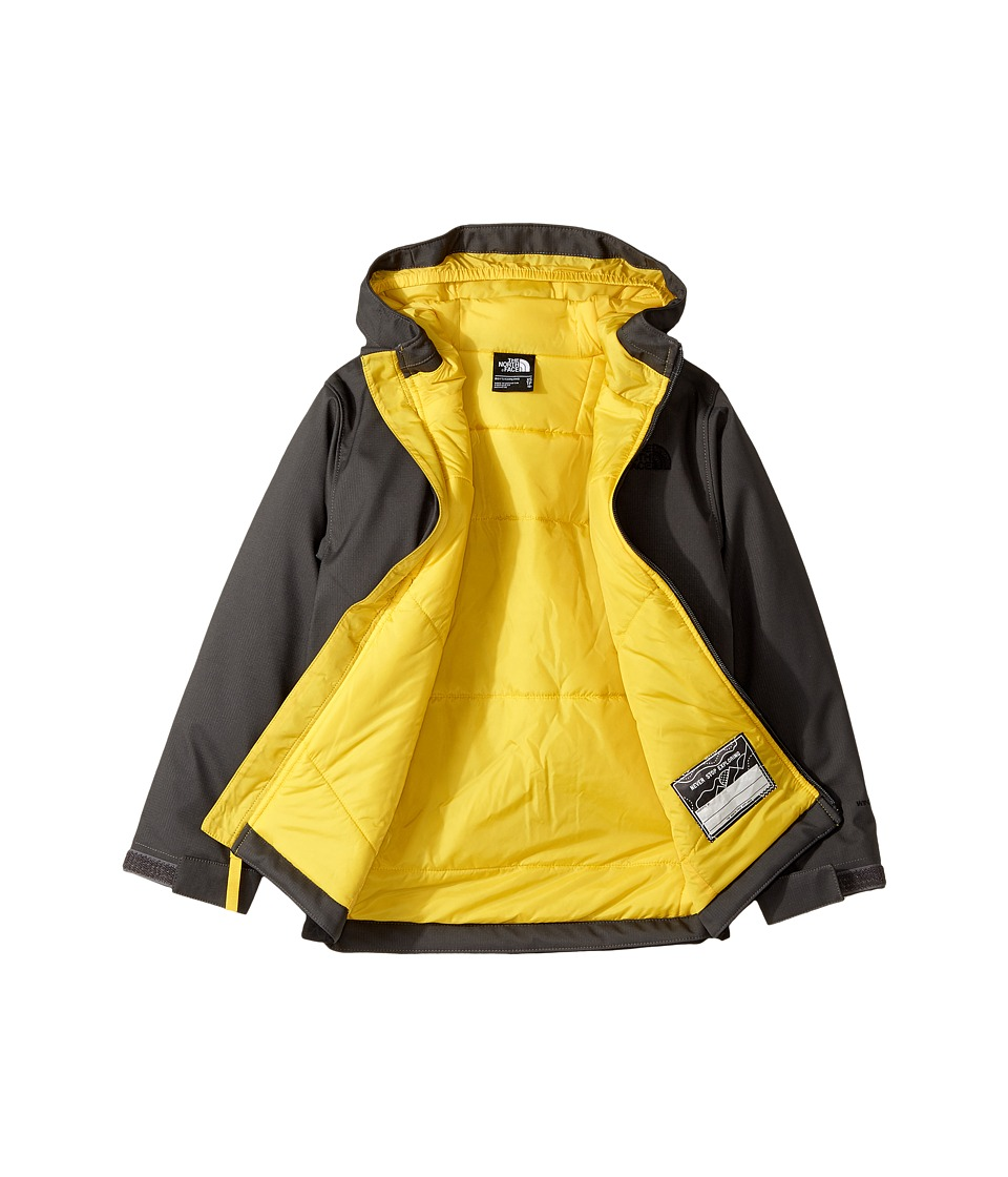 3cbaeb92529a The north face kids - apex elevation (little kids big kids) (graphite  grey canary yellow) boy s jacket