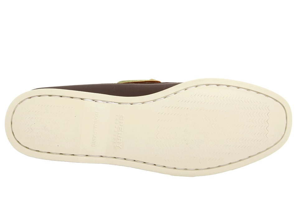 sperry top sider a o 2 eye womens slip on shoes