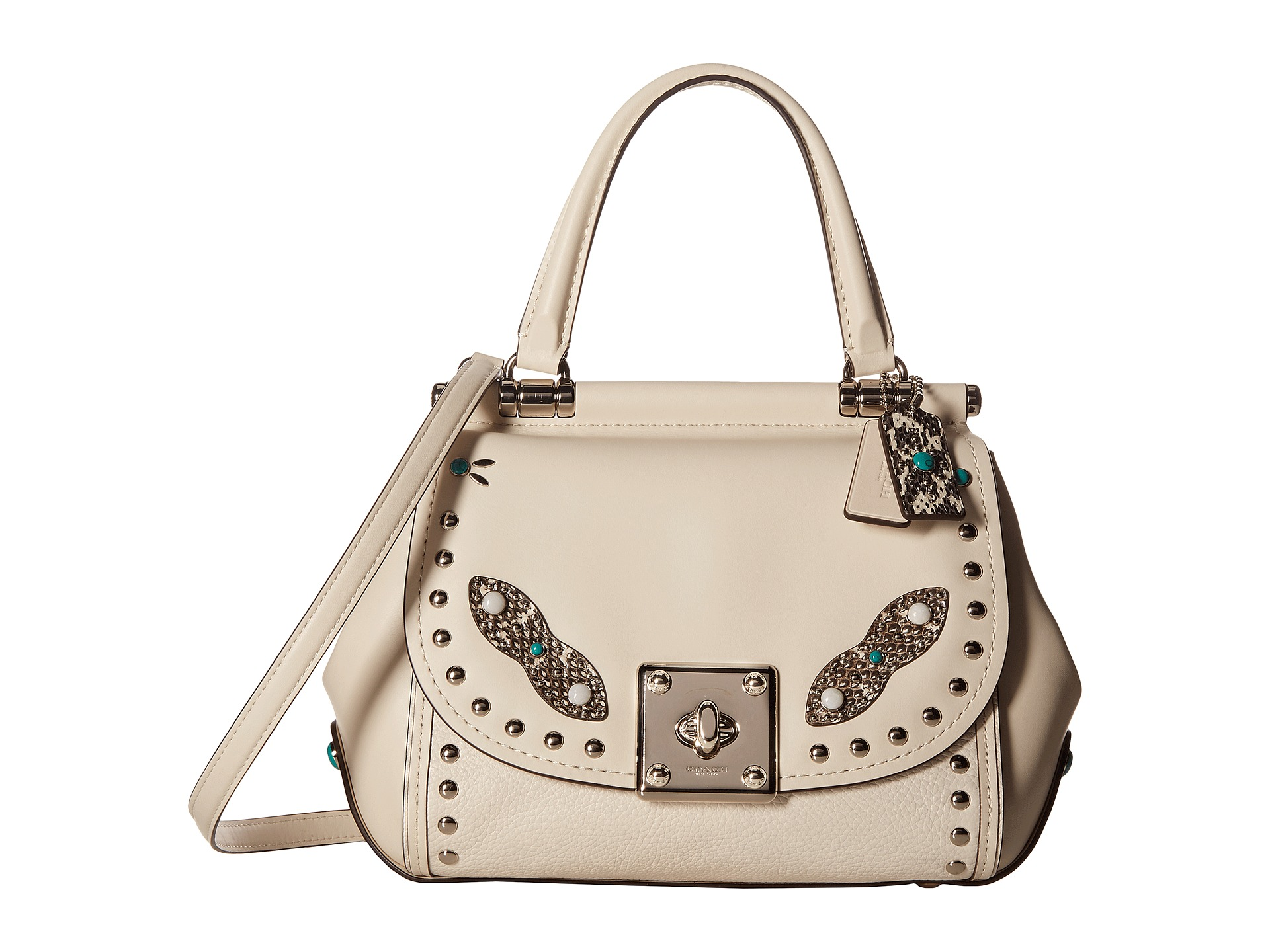 Coach Western Rivets Drifter Top Handle Zappos Com Free