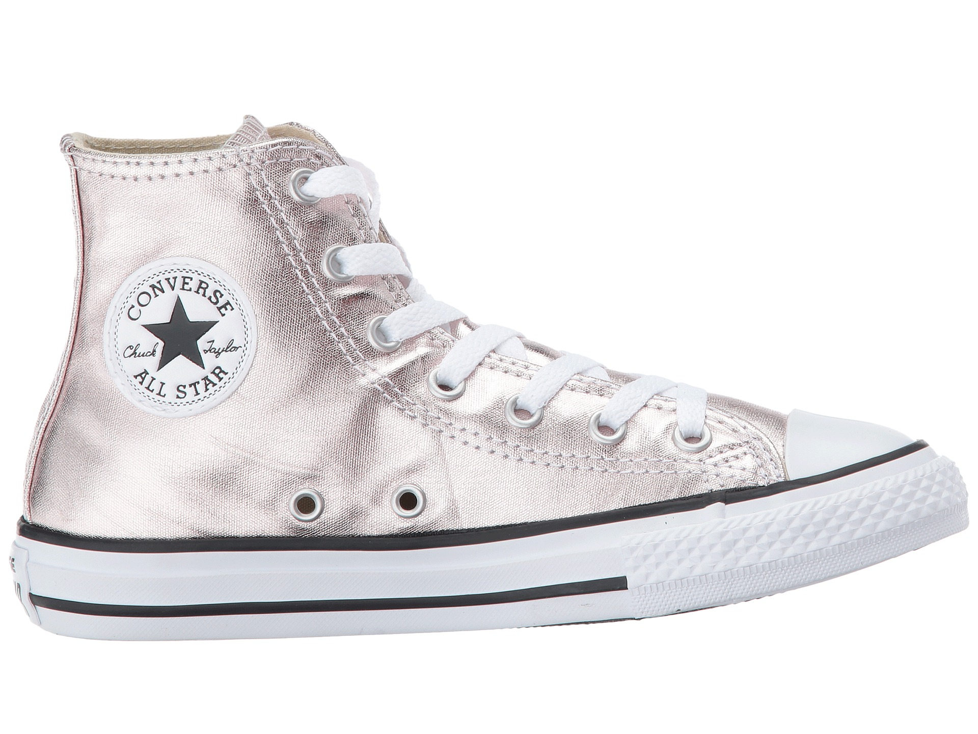 Converse Kids Chuck Taylor All Star Hi Metallic Little