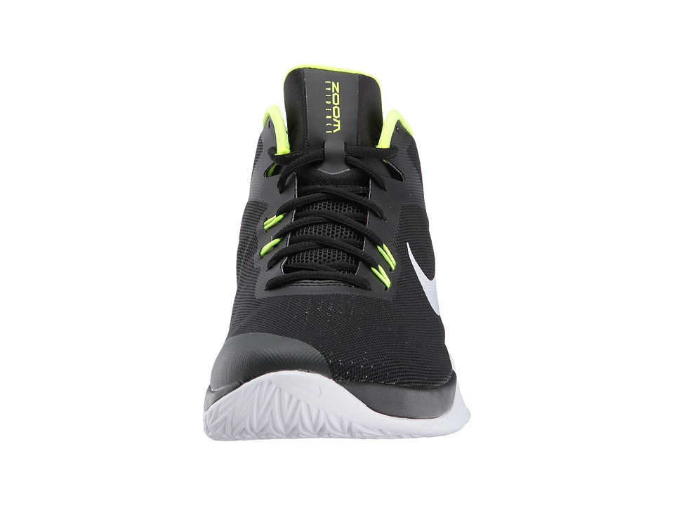 d854fbff36c Nike - Zoom Evidence (Black White Volt) Men s Basketball Shoes free shipping