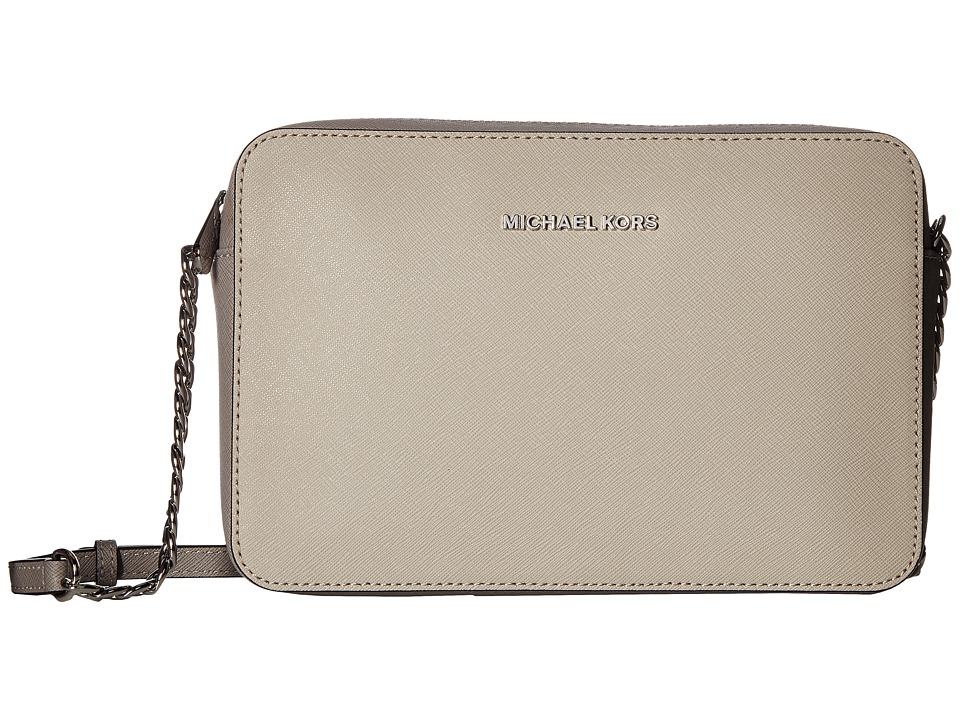 6f98fa30af90 Women Macys nwt michael kors brown saffiano leather satchel tote ...