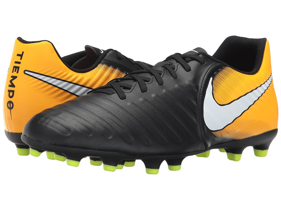 679f21b0d UPC 885259489871. Nike Mens Tiempo Rio Iv Fg Firm Ground Soccer Cleats Black/Orange  6.5