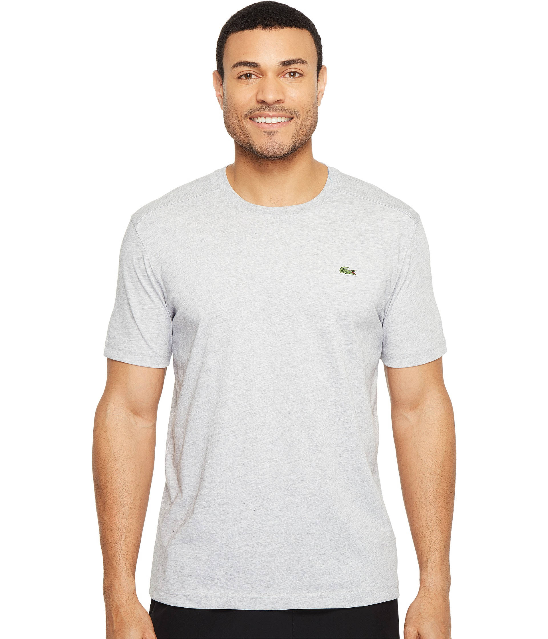 lacoste sport short sleeve technical jersey tee shirt at. Black Bedroom Furniture Sets. Home Design Ideas