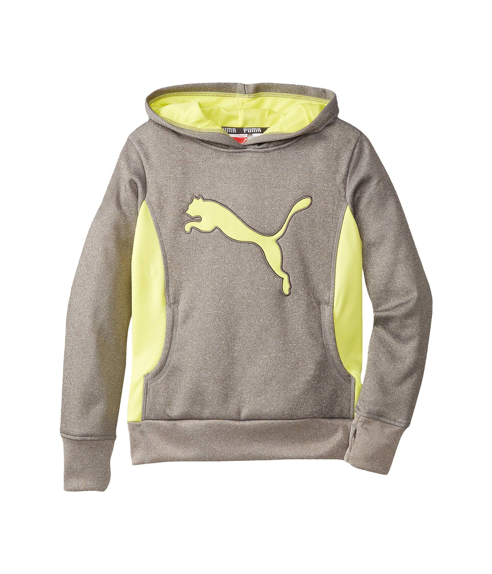 Puma Kids Cat Hoodie with Thumb Hole (Little Kids ...