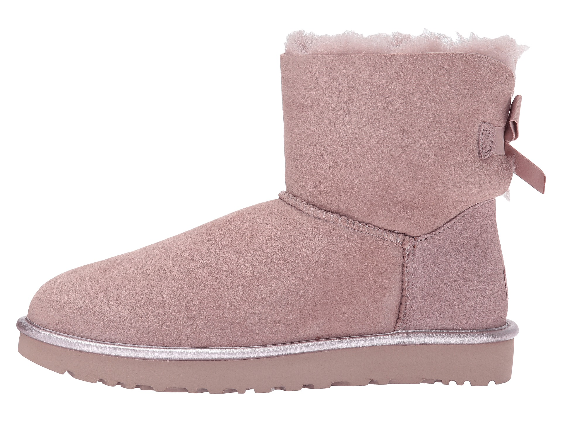 76888f4e85f Bailey Button Uggs With Metal Logo